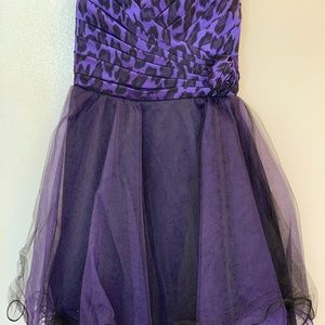 My Michelle Purple Party Dress